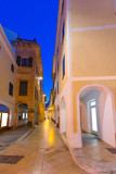 Ciutadella Menorca Ses Voltes arches Ciudadela poster
