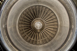 Jet Airplane turbine engine