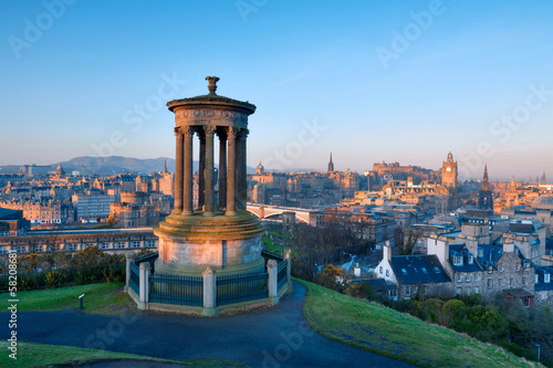 Edinburgh from Castle Hill