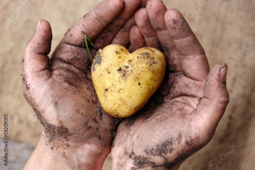 Leinwanddruck Bild Aus liebe zur Landwirtschaft