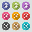 Email icon - Flat designs