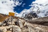 Mount Everest signpost - 58209693