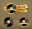Vinyl record, icon