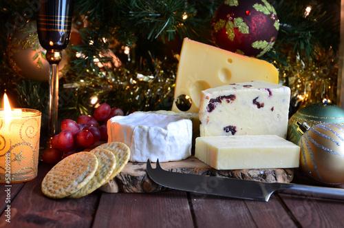Leinwandbild Motiv Selection of Cheese