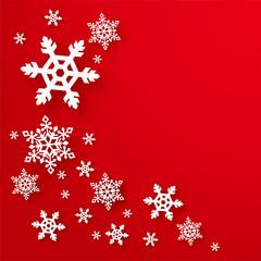 雪・結晶・クリスマス素材