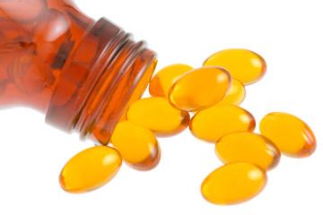 capsules d'huile de pépins de courge