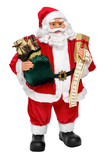 Santa Claus doll with presents and name list