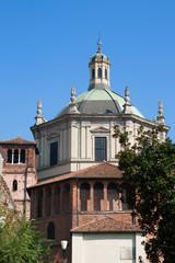 Milan - Basilica of San Lorenzo dome,  tiburio