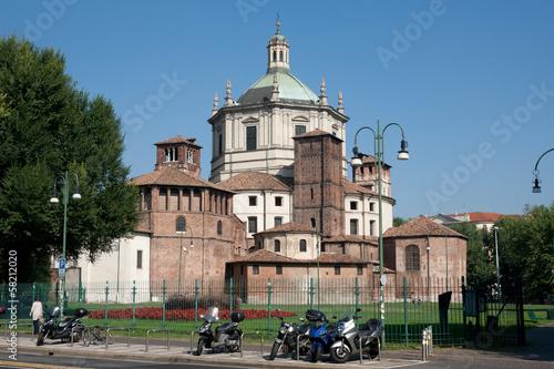 Milan - Basilica of San Lorenzo, apse view