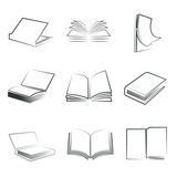 sketched  books set