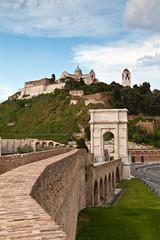 Ancona, l'Arco di Traiano ed il Duomo di S.Ciriaco