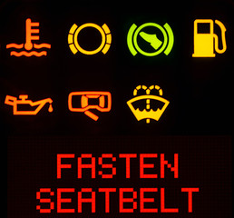 Dashboard symbols, service icon