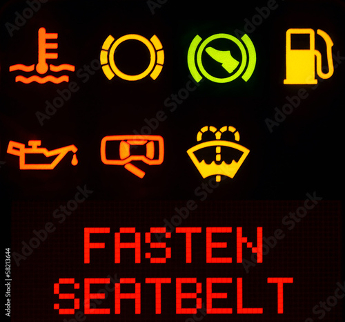 Dashboard symbols, service icon