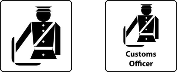 Officer custom control sign