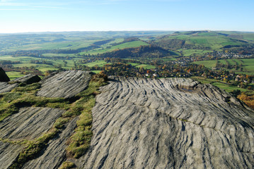 Millstone grit, Peak District