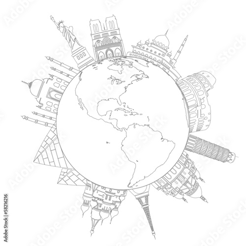 Landmarks Around The World