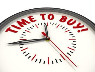 Time to buy! Часы с надписью