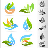 Nature Symbol and Icons series - 2