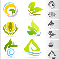 Nature Symbol and Icons series - 4