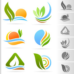 Nature Symbol and Icons series - 3
