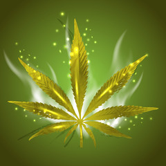 Magic Ganja Leaf