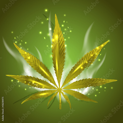 Magic Ganja Leaf