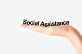 social assistance poster