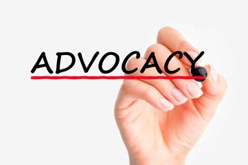 Advocacy word