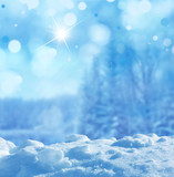 Fototapety winter background