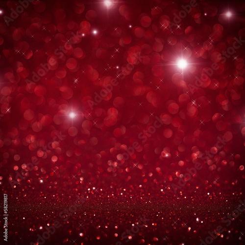 canvas print picture festlicher roter Hintergrund