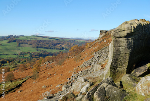 Rock Formation, Peak District