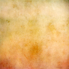 Yellow and orange grunge abstract texture for background