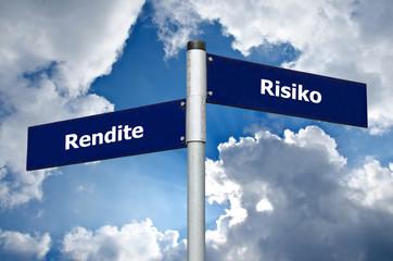 Wegweiser Rendite Risiko