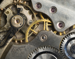 Gold Silver Precision Antique Vintage Pocket Watch Bodies Parts