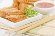 Asian Starters - Fried wontons, prawn toast and spring rolls