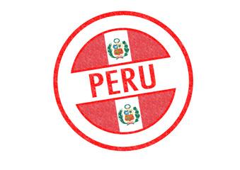 PERU Rubber Stamp