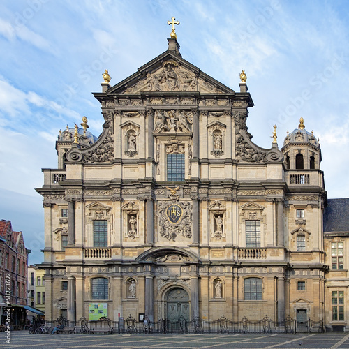 Church of St. Charles Borromeo in Antwerp, Belgium