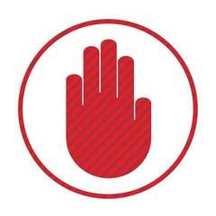 Prohibiting hand