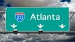 Atlanta - Interstate 20 Sign Time Lapse