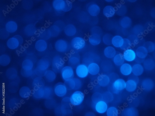 Bokeh Blue Background - 58225814