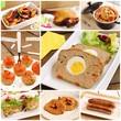 Assortment of meat recipes