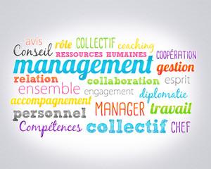 nuage de mots : management
