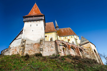 Biertan Fortified Church in Transylvania, Romania