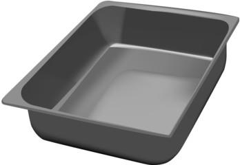 vaschetta metallica