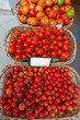 Mediterranean tomatoes in Balearic Islands market