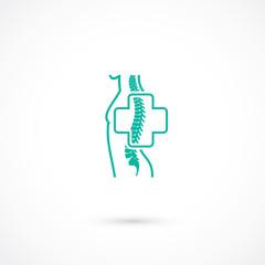 Orthopedic and spine symbol