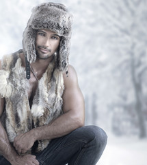 Winter male fashion