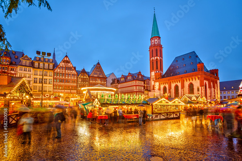 Christmas market in Frankfurt