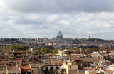 Rome, Panoramic and St Peters Basilica