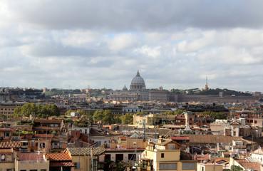 Rome, Panoramic and St Peters Basilica